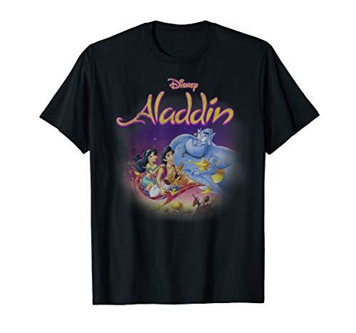 Disney Aladdin Magic Carpet Movie Cast T-Shirt