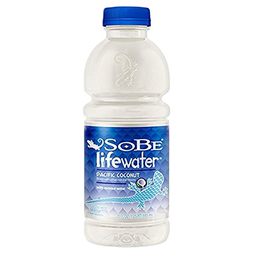 SoBe Lifewater, Coconut, 20 Oz (Pack of 12)
