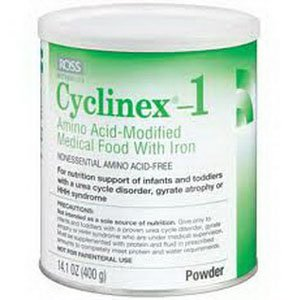 Cyclinex-1 Amino Acid-Modified Medical Food With Iron Powder 14.1-Oz (400-G)-Can - 1 Each
