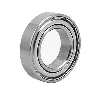 Amazon.com: uxcell S6903Z - Rodamiento de bola radial (acero ...