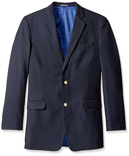 Nautica Big Boys' Navy Blazer, Dark Blue, 14