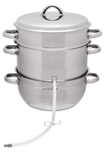 Stainless Steel Multi-Use Steam Juicer by VICTORIO VKP1140 by Victorio Kitchen Products