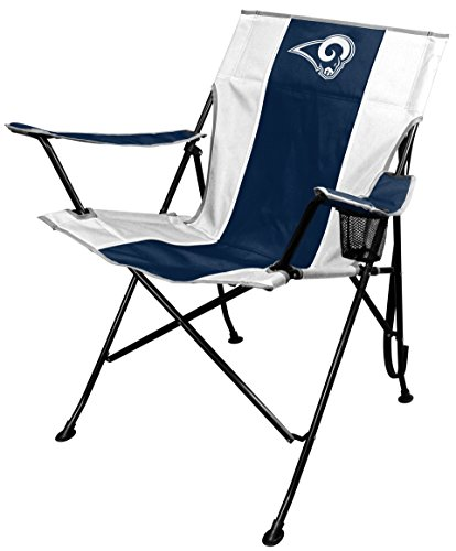 - NFL St. Louis Rams Tailgate Chair, Blue/Gold, One Size