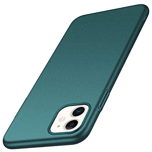 Arkour for iPhone 11 Case, Minimalist Ultra Thin Slim Fit Non-Slip Matte Surface Hard PC Cover for iPhone 11 (Gravel Green)