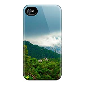High-end Case Cover Protector For Iphone 4/4s(the Forest Peak)