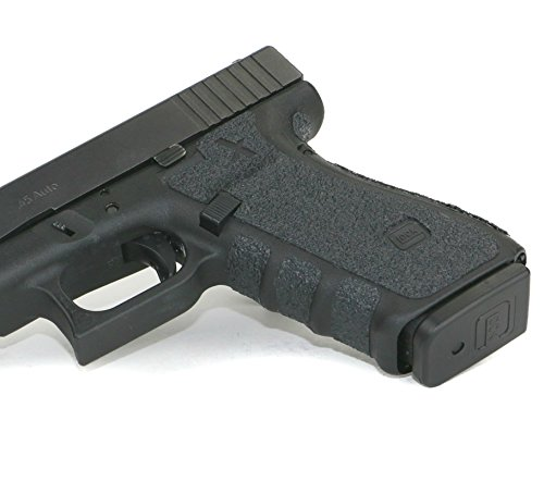 Foxx Grips -Gun Grips Glock 20 & 21 (Rubber Grip Enhancement) (Black, Gen 4)