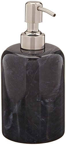 International Marble Collection - Creative Home Internal Spa Collection Black Marble Liquid Soap Dispenser