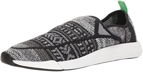 sportive moda alla nere Chiba grigie Scarpe Sanuk p6gqn6W