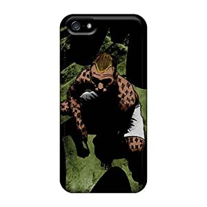 Henrydwd Iphone 5/5s Hybrid Tpu Case Cover Silicon Bumper Zsasz I4