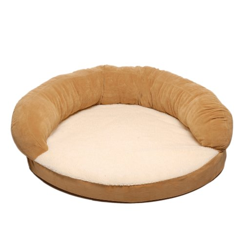 (Cpc Ortho 35-Inch Sleeper Bolster Bed, Caramel)