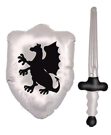 Henbrandt - Espada Hinchable para Caballero de dragón de ...