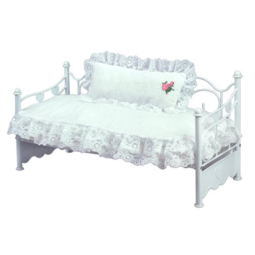 Doll Bedding 2 Pc. Set for 18 Inch Dolls Like 18″ American Girl Dolls, 2 Piece Doll Bedspread Set Includes the Doll Comforter and Doll Pillow, the Doll Bed Is Not Included, Baby & Kids Zone