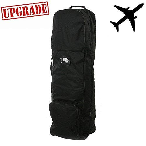 loofeng [Upgrade Version] Golf Travel Bag 1680D Golf Travel Bags for Airlines with Wheels