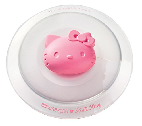 Siliconezone SZ12KS-11710AA Hello Kitty Cup Lid, Pink]()