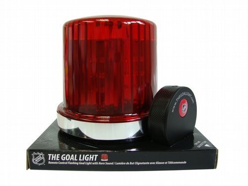 - Fan Fever NHL The Goal Light and Horn with 30 Team Labels