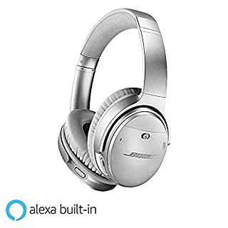 Bose QuietComfort 35 II Wireless Bluetooth Headphones, Noise-Cancelling, with Alexa voice control, enabled with Bose AR - Silver (B0756GB78C) | Amazon price tracker / tracking, Amazon price history charts, Amazon price watches, Amazon price drop alerts