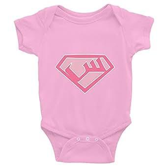 Supergirl Arabic Baby Onesie