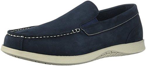 (Nunn Bush Men Bayside Venetian Slip-On Boat Shoe, Navy, 11 )