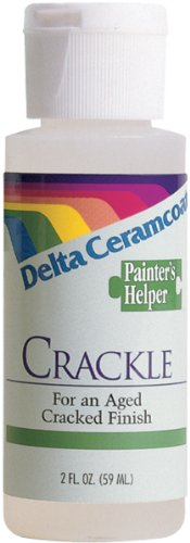 - Plaid Delta Ceramcoat Painters Helper Crackle Medium-2 Ounces