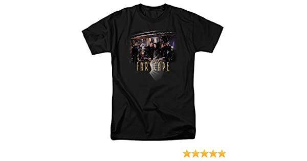 Farscape TV Show RYGEL SMOKING GUNS Licensed Adult Heather T-Shirt All Sizes