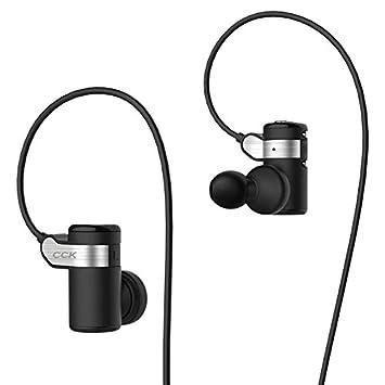 nueva marca CCK KS Parkour HIFI inalámbrico auriculares deporte auriculares Bluetooth auriculares estéreo Bass música auriculares con micrófono: Amazon.es: ...