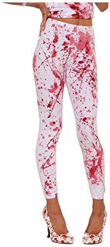 Forum Novelties Women's Blood Boutique Bloody Costume Leggings, Multi, Standard ()