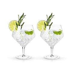 Raye Cocktail Crystal Glasses Set of 2