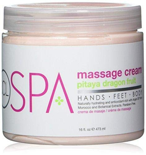 Bio Creative Lab Massage Cream, Pitaya, 16 Ounce