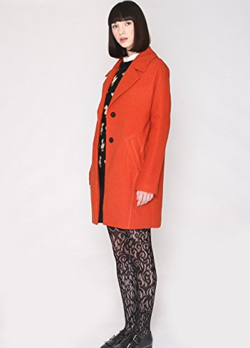 Pepaloves Orange Femme Rust Manteau Simona w4vqRvXc