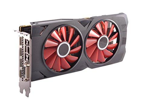 XFX RX 570 4GB GDDR5 RS XXX Edition PCI-Express 3.0 Graphics Card RX-570P427D6,Black/Red