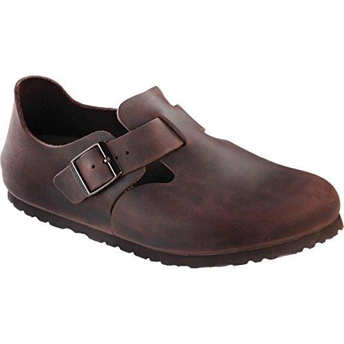 Birkenstock Unisex London European Loafer Habana Oiled Size 37 EU (6-6.5 N US Women)