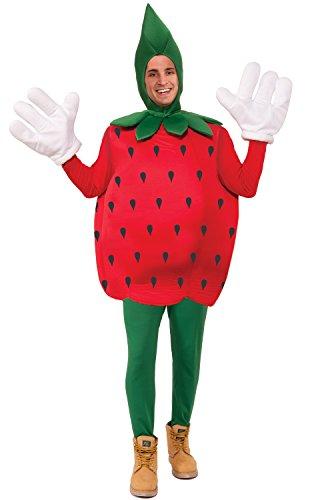 Forum Novelties Strawberry Costume, Red, (Strawberry Costume Man)