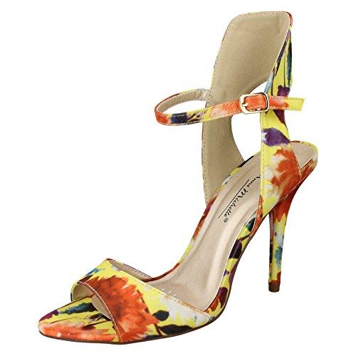 Ladies Anne Michelle Sandals Yellow