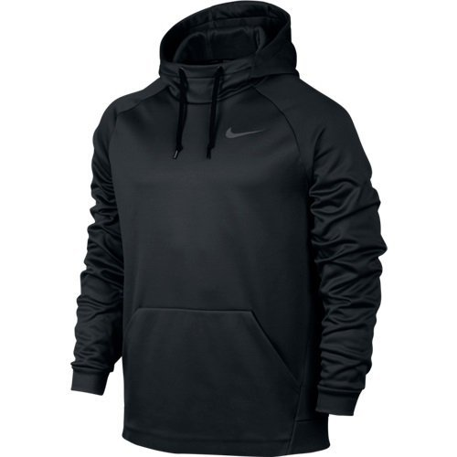 Men's Nike Therma Training Hoodie Black/Dark Grey Size X-Large