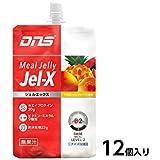 DNS プロテイン Jel-X(ジェルエックス)ミールゼリー12個入り (トロピカルフルーツ風味)