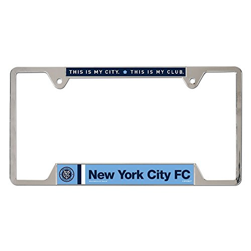 fan products of SOCCER New York City FC Metal License Plate Frame
