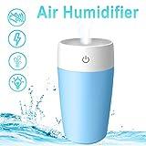 Mini Humidifiers 300ML Ultrasonic Cool Mist Humidifier Air Travel...