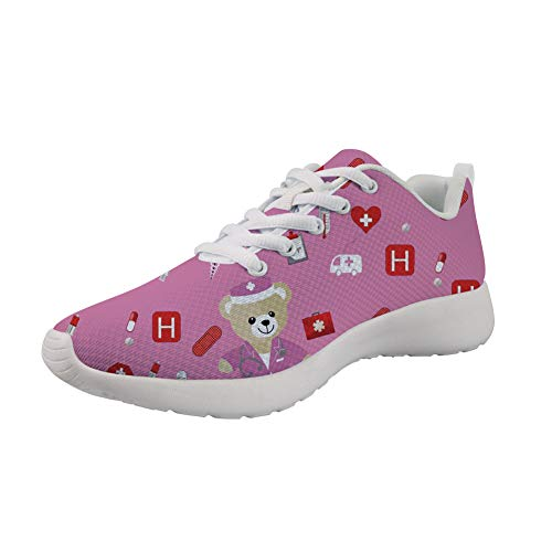 Pink Bear Sneaker Sneaker Showudesigns Bear Sneaker Showudesigns Showudesigns Donna Pink Donna Donna HpqnnTPw