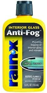 Rain X Anti Fog Windshield Treatment, 3 oz