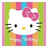 : Hello Kitty Birthday Lunch Napkins 16ct