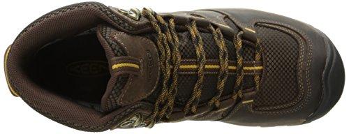 Keen Gypsum Ii Mid Wp, Zapatos de High Rise Senderismo para Hombre Marrón (Coffee Bean/bronze Mist)