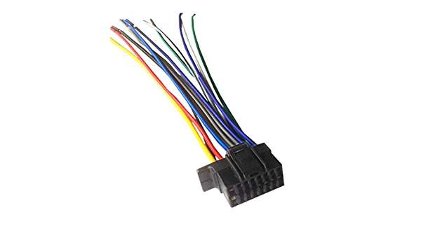 Amazon.com: 16 Pin Auto Stereo Wiring Harness Plug for Sony MEX-N5100BT:  Everything ElseAmazon.com