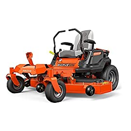 "Ariens 915223 IKON-X 52"" Zero Turn Mower 23hp Kawasaki FR691 Series 82 23 hp/726 cc Kawasaki FR V-Twin Engine 52"" fabricated deck is 4½"" deep and made of 10-gauge steel High-back padded seat with armrests,"