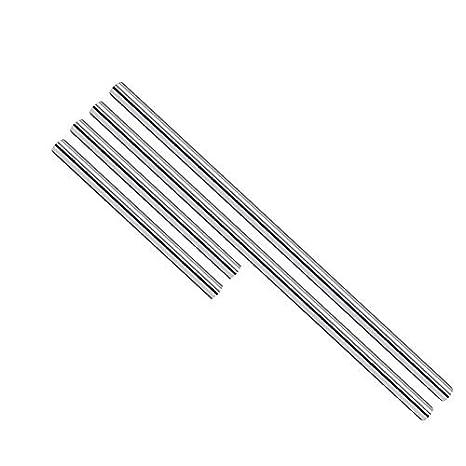 8mm 3D printer parts Reprap Chromed CNC shaft smooth Rod Round bar steel #45
