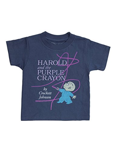 Out of Print Kids' Harold and The Purple Crayon T-Shirt 6/7 Year -