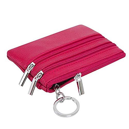 Rose Red Glissière Main Femmes Polyvalent Sac À Fermeture Coafit Avec Pour 6wzqRYv