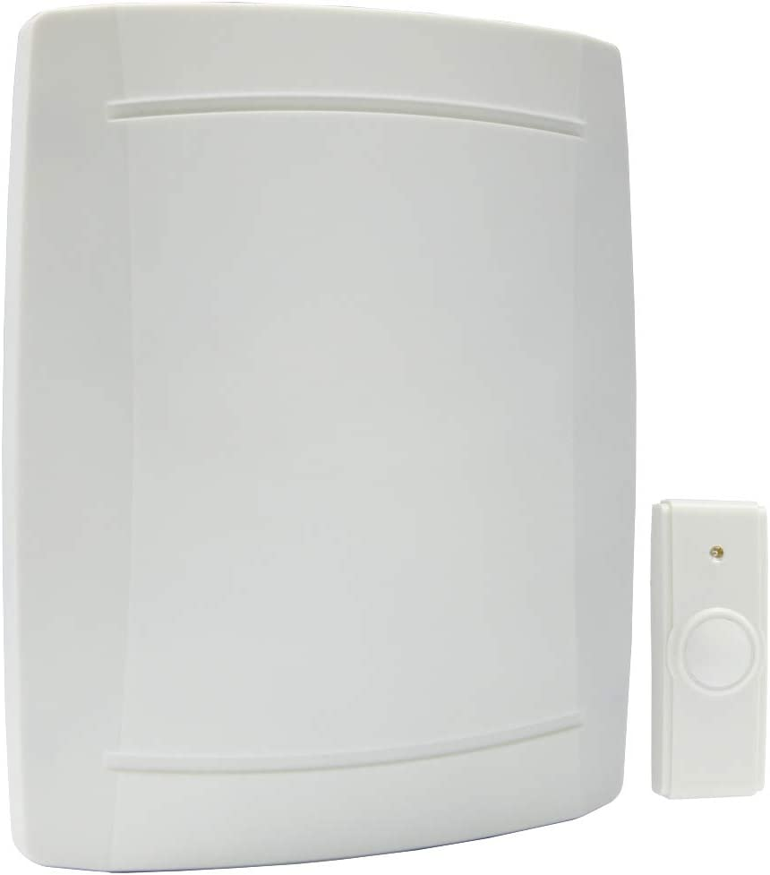 IQ AMERICA WD-2408 Wrls Batt Push Button Doorbell