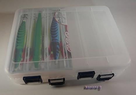 Caja para señuelos, accesorios (JCB202): Amazon.es: Deportes y ...