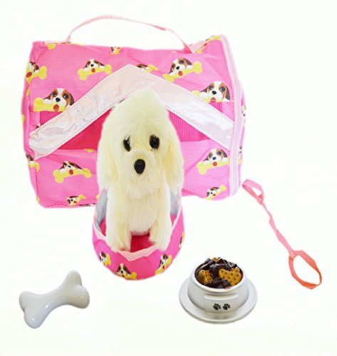 My Brittany's Pekingese Puppy Dog Doll Carrier Pet Set For 18 Inch American Girl Dolls- Pet for American Girl Dolls