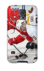 First-class Case Cover For Galaxy S5 Dual Protection Cover Nashville Predators (52)